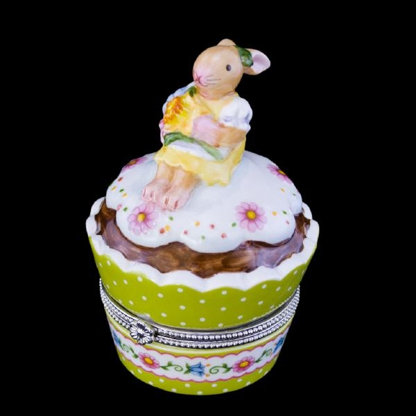 Spring Decoration Dose Cupcake Blume