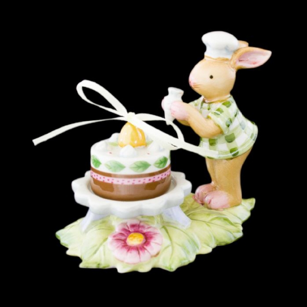 Bunny Family Hasenjunge mit Torte
