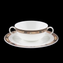 Galleria Leonard Paris Brocade Suppentasse + Untertasse